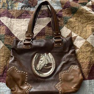 Horse head purse